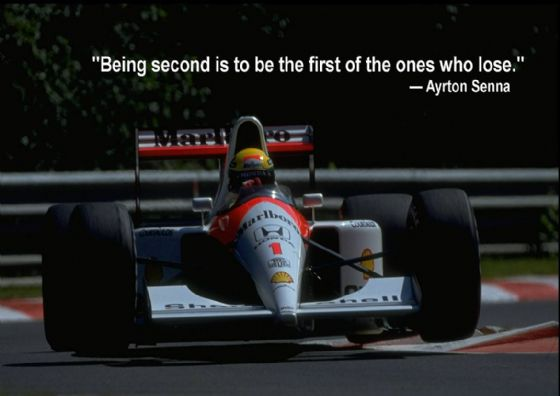 Ayrton Senna Quote. Motor Racing/Formula 1 Legend. Print/Poster. Sizes: A4/A3/A2/A1 (003417)